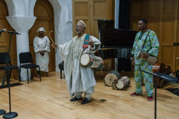 Francis Awe and The Nigerian Talking Drum Ensemble
