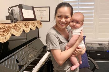 Stay-at-home Diaries | Ruby Wang, Piano Faculty